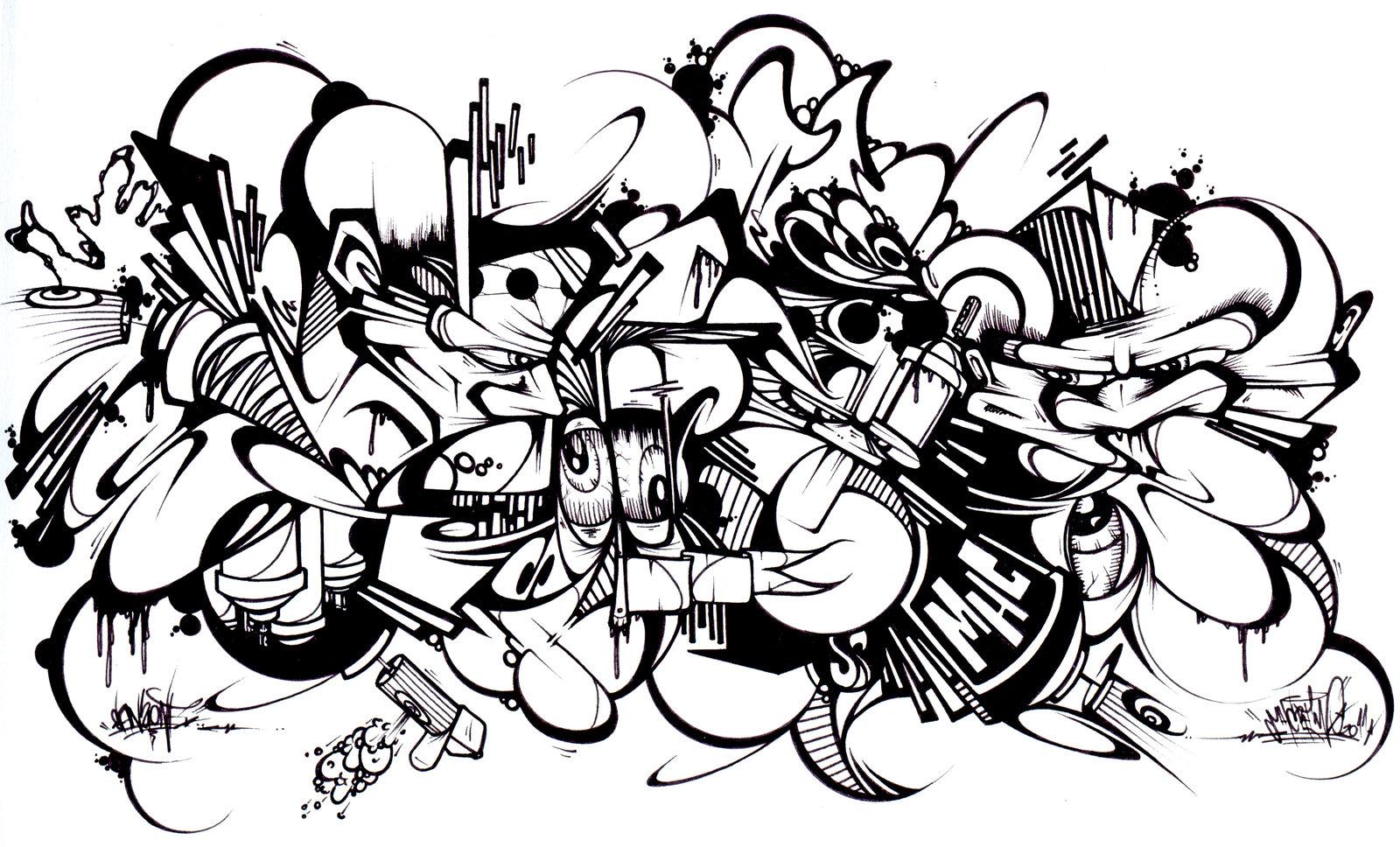 Graffiti Coloring Pages At Getcolorings