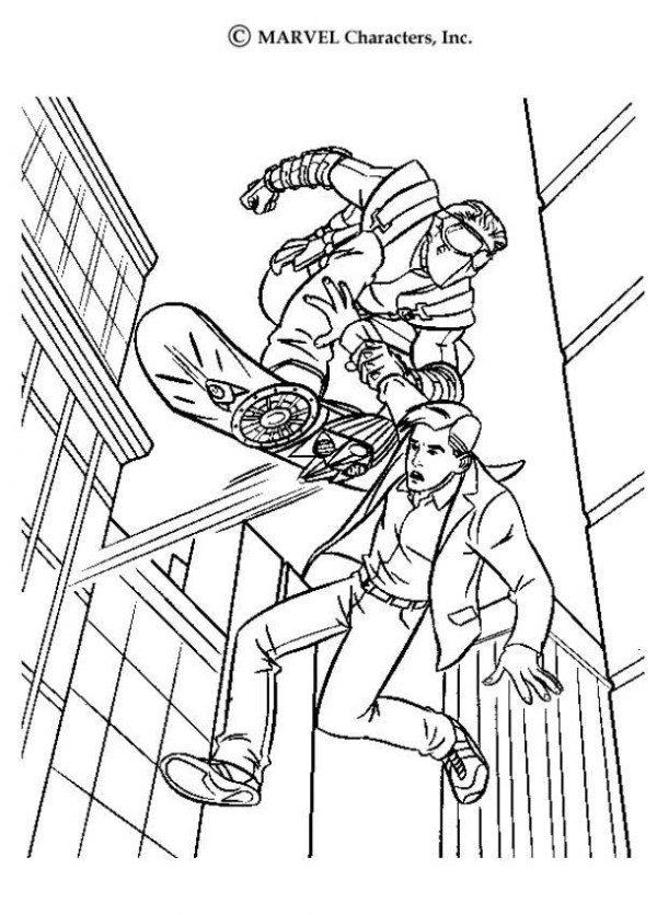 green goblin coloring page at getcolorings  free