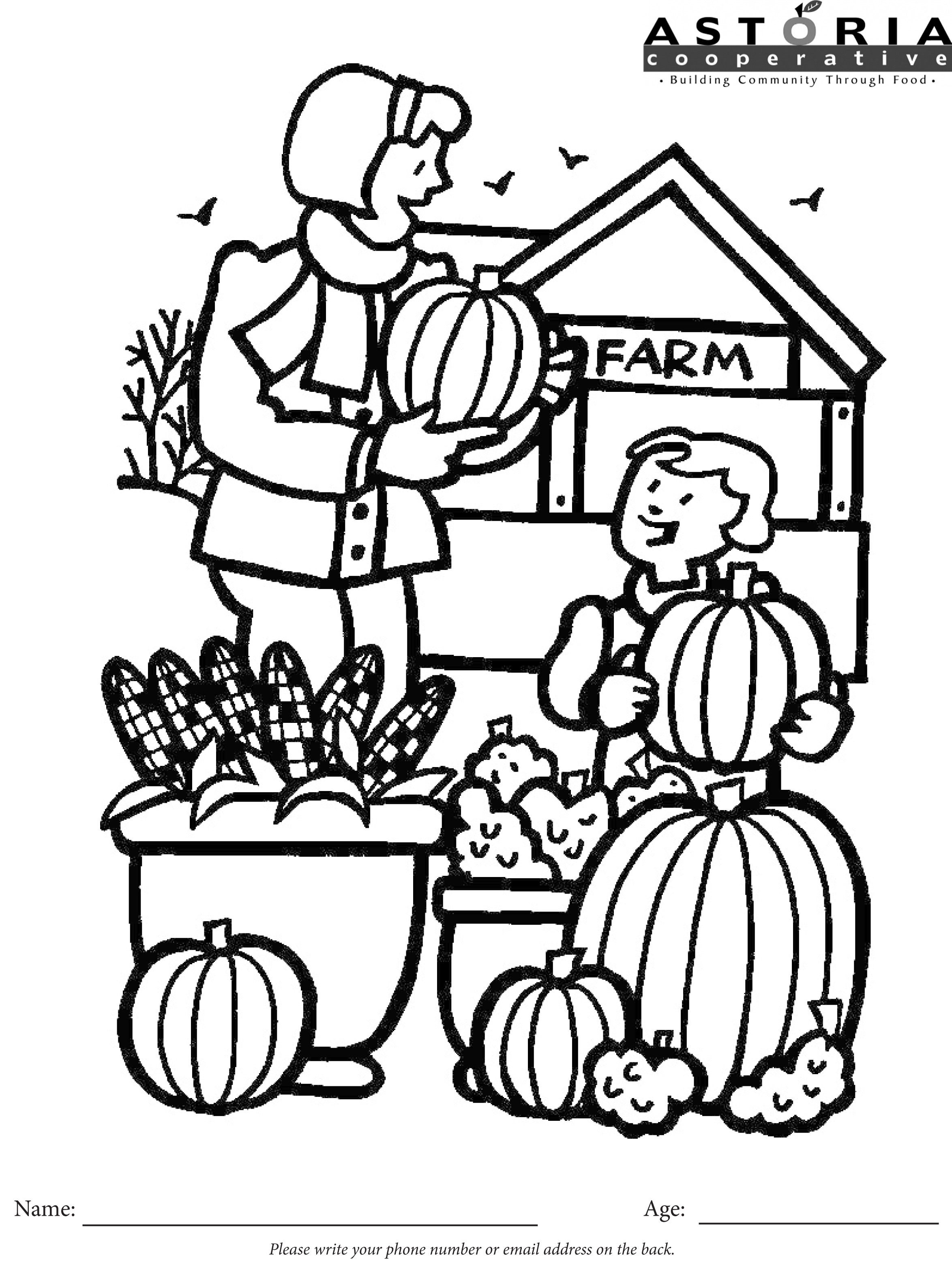 Grocery Coloring Pages At Getcolorings