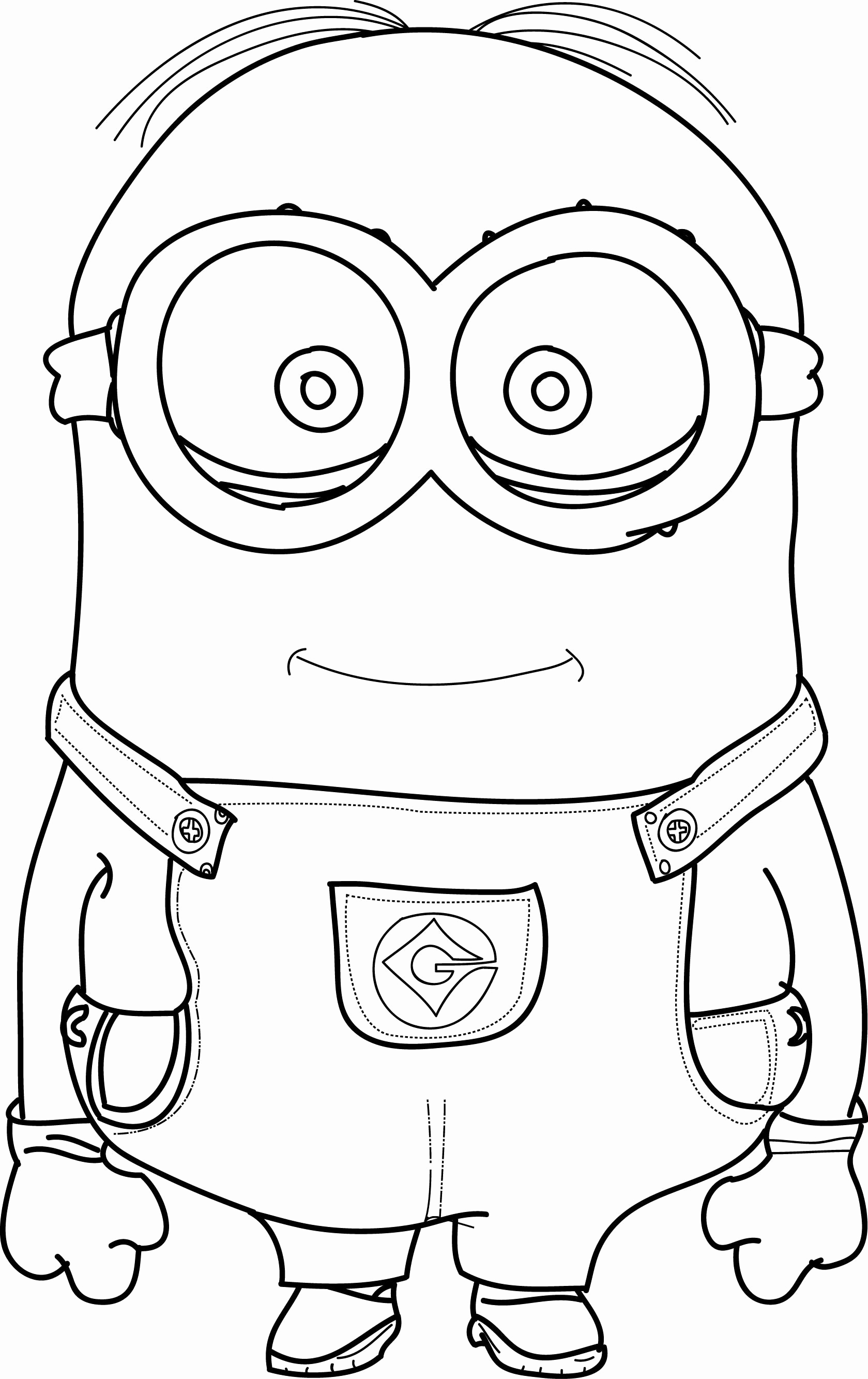 Halloween Minion Coloring Pages At Getcolorings