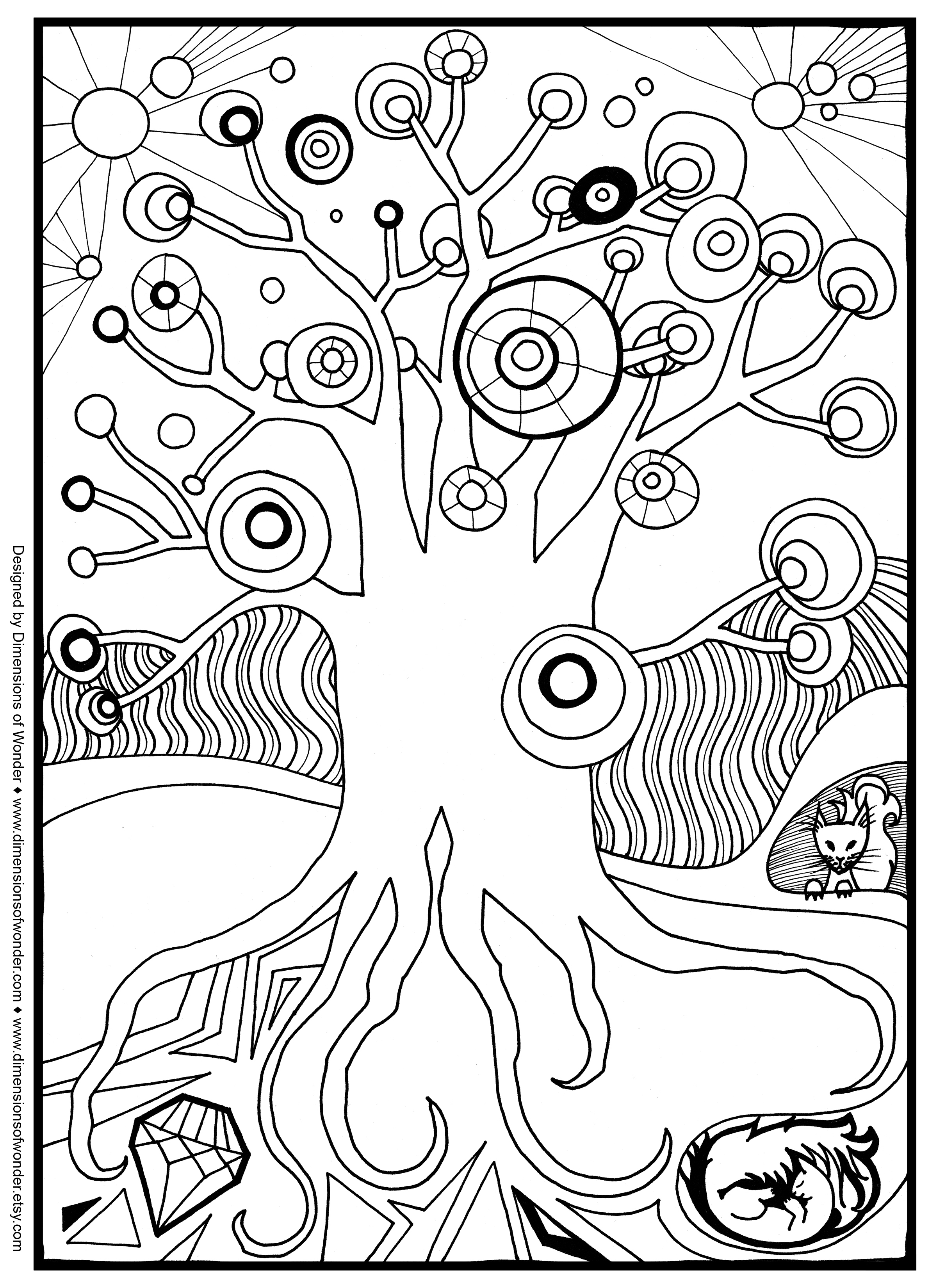 Halloween Scene Coloring Pages At Getcolorings