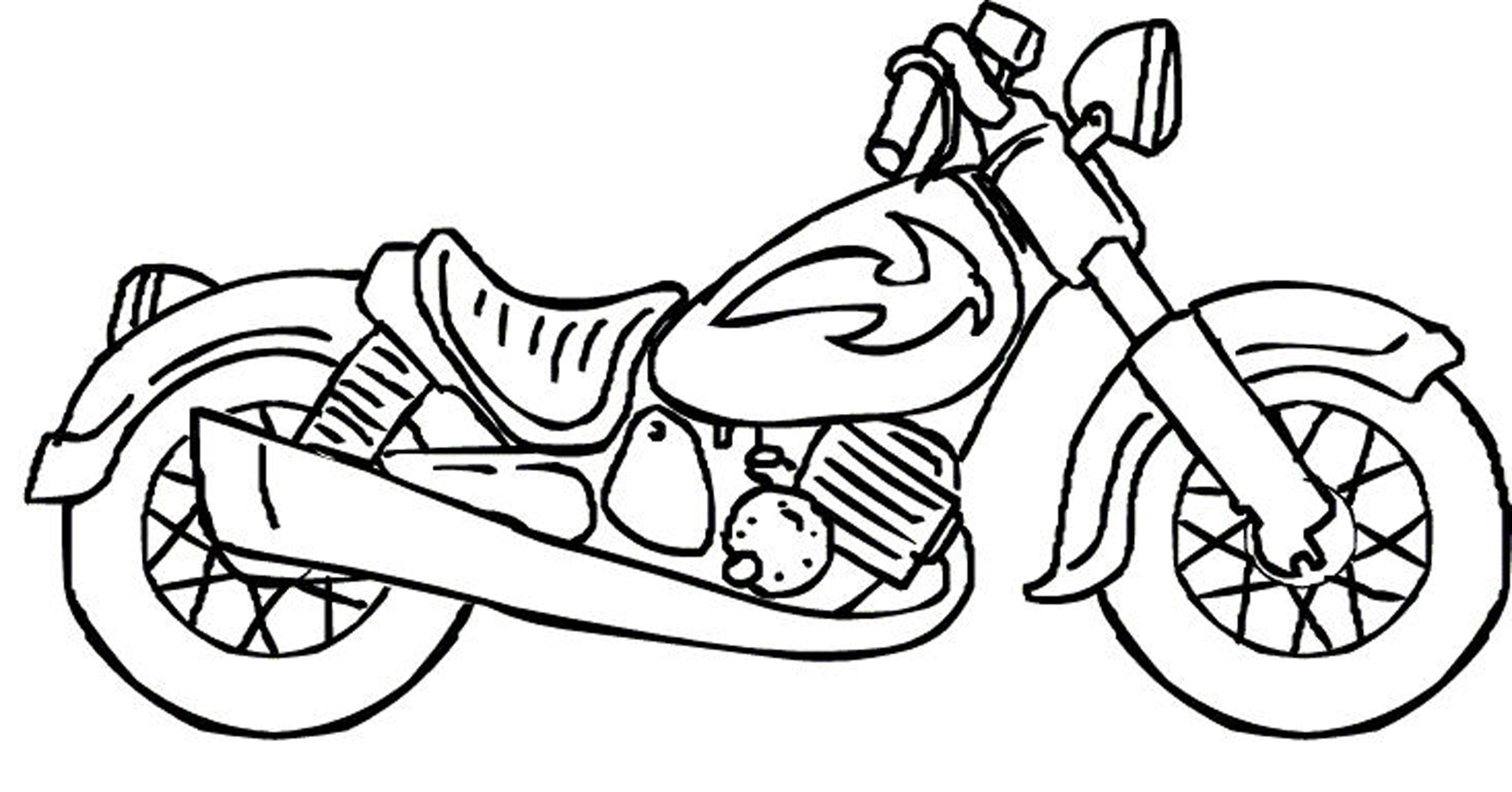 Harley Davidson Coloring Pages At Getcolorings