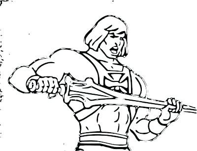 he man coloring pages # 21