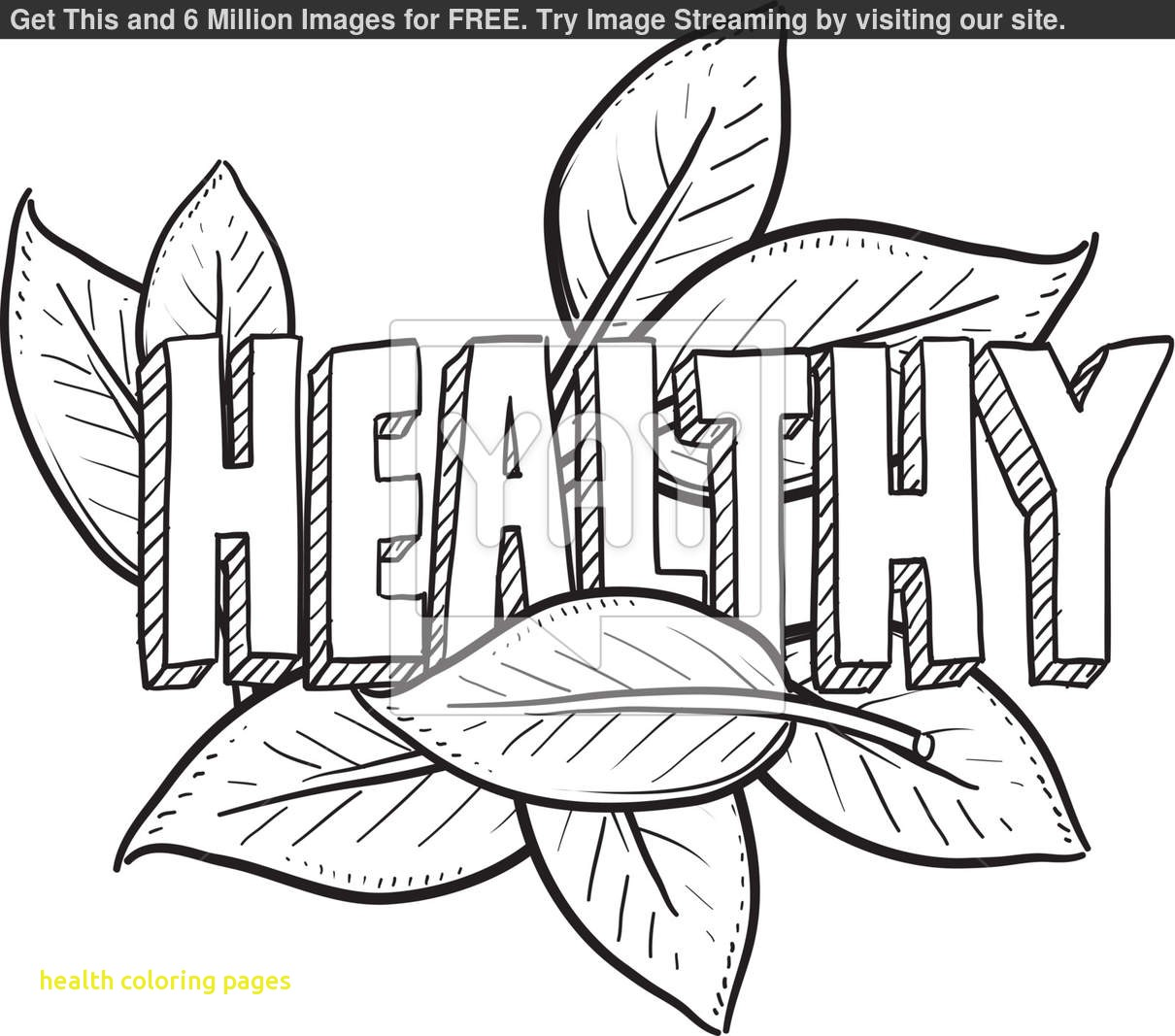 Healthy Body Coloring Pages At Getcolorings