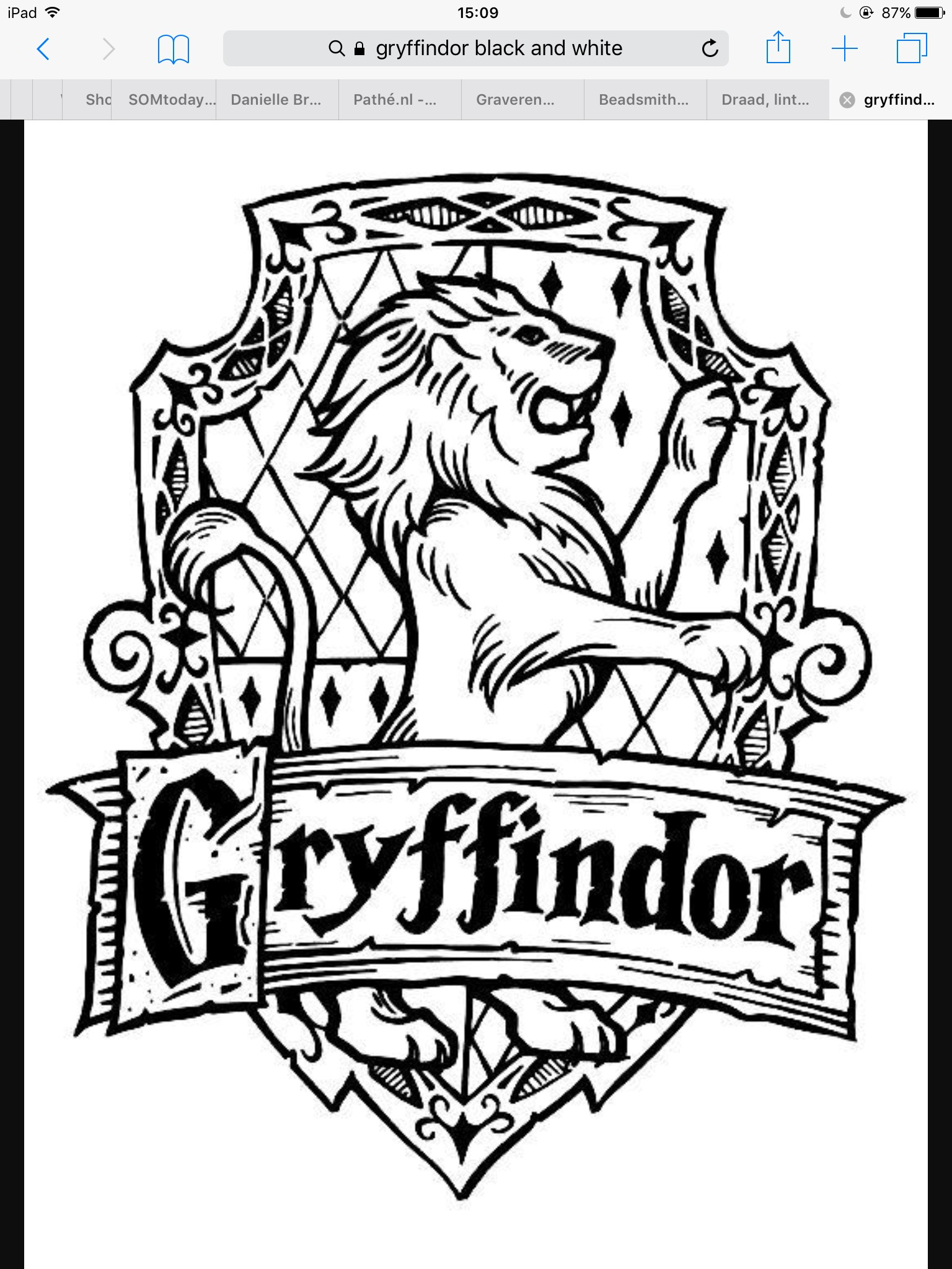 Hogwarts Houses Coloring Pages At Getcolorings