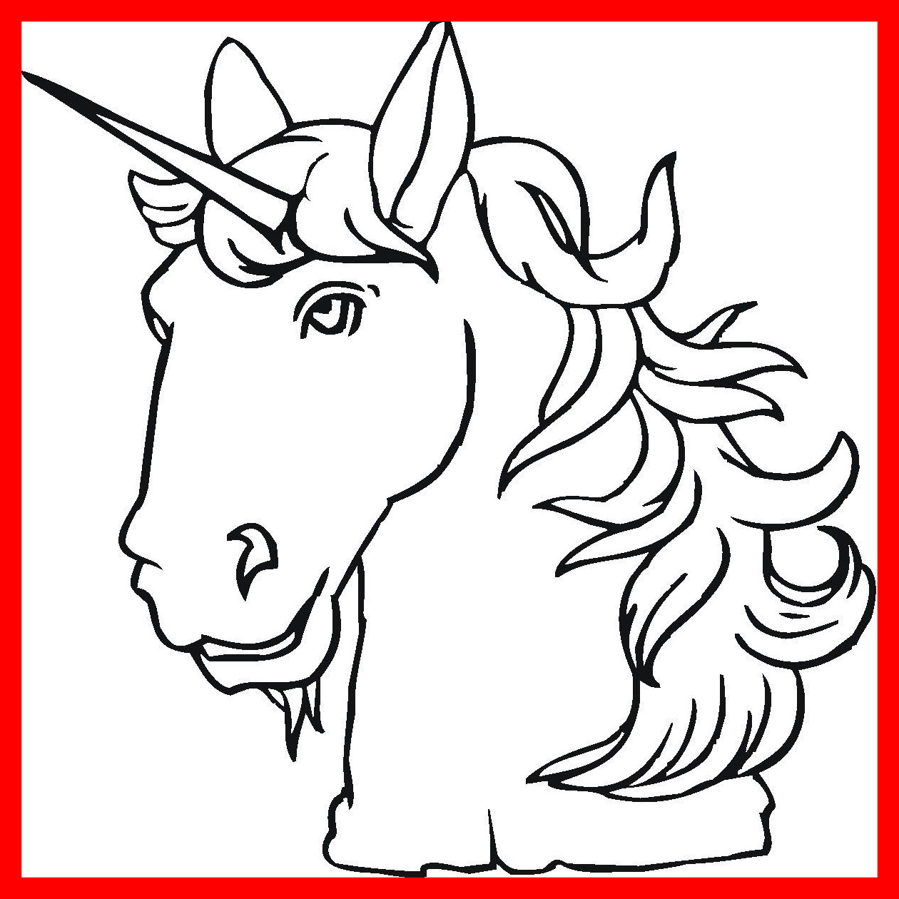 Horse Head Coloring Pages At Getcolorings