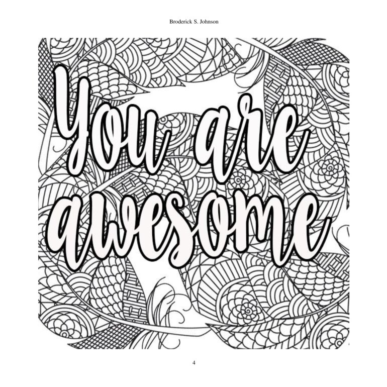 Inspirational Quotes Coloring Pages at GetColorings.com ... | free printable inspirational coloring pages