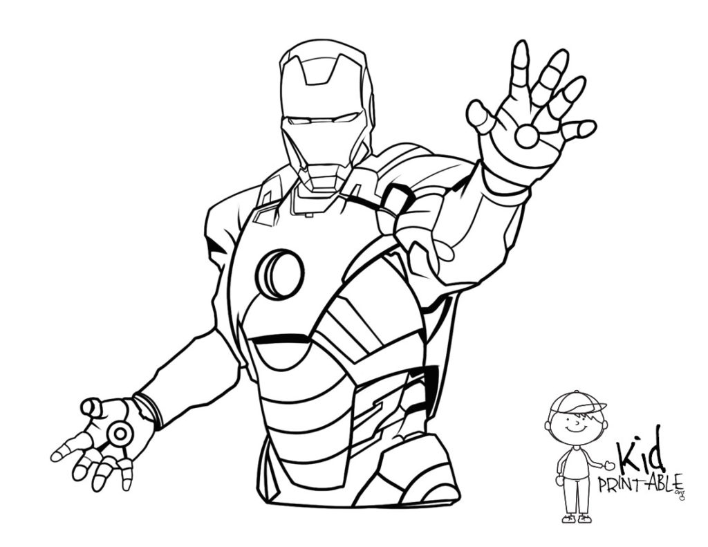 Iron Man Coloring Pages At Getcolorings