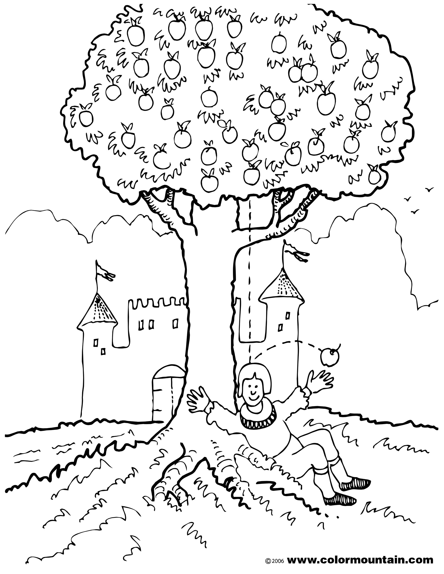 Isaac Newton Coloring Page At Getcolorings