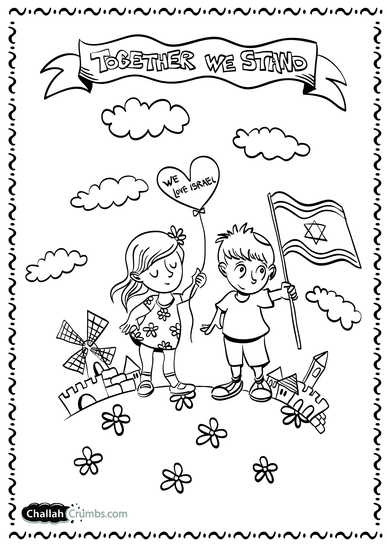 Israel Coloring Pages At Getcolorings