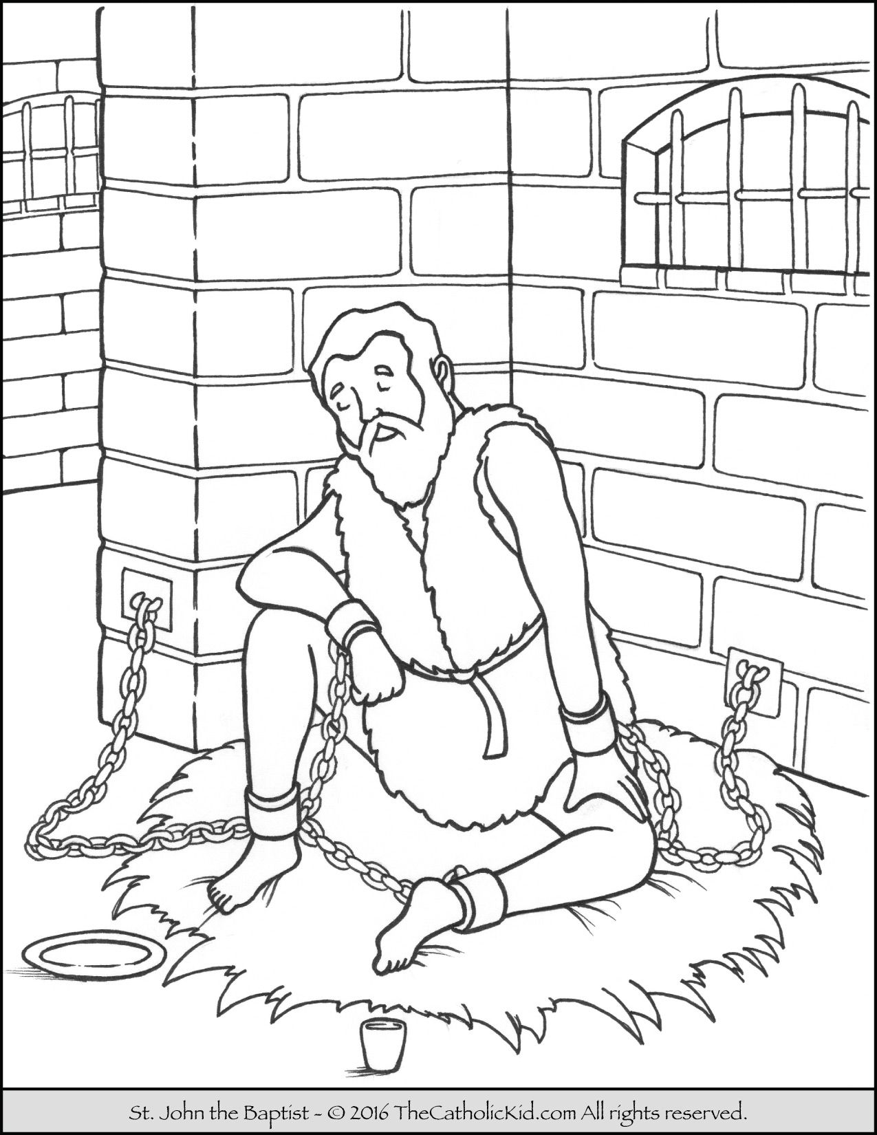 Jail Coloring Pages At Getcolorings