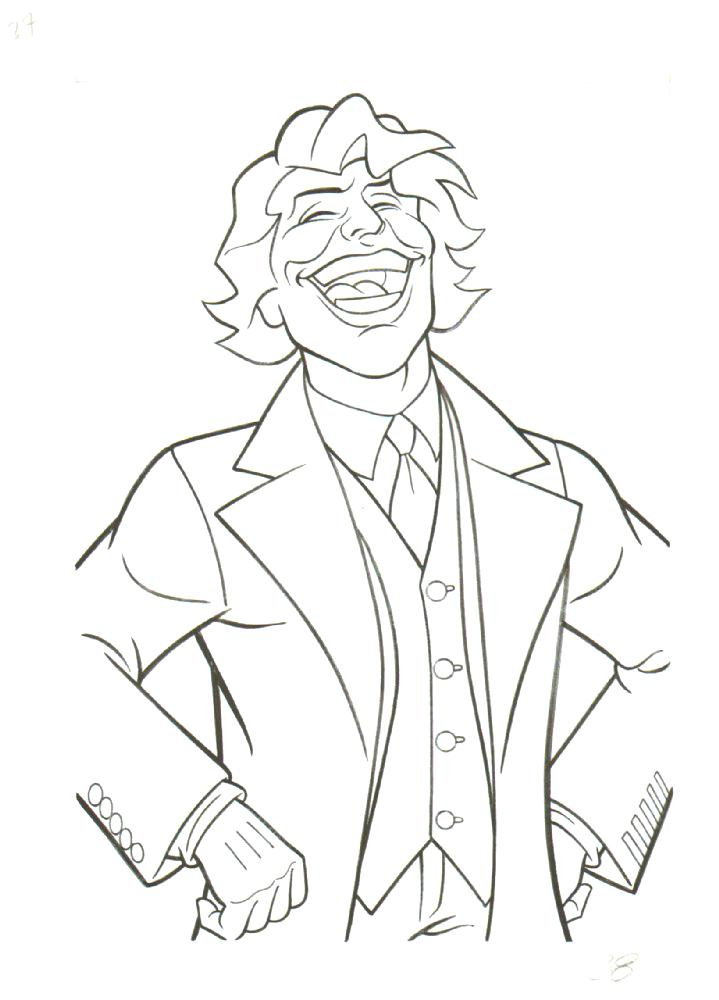 joker coloring pages at getcolorings  free printable