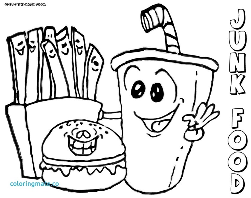 kawaii food coloring pages at getcolorings  free
