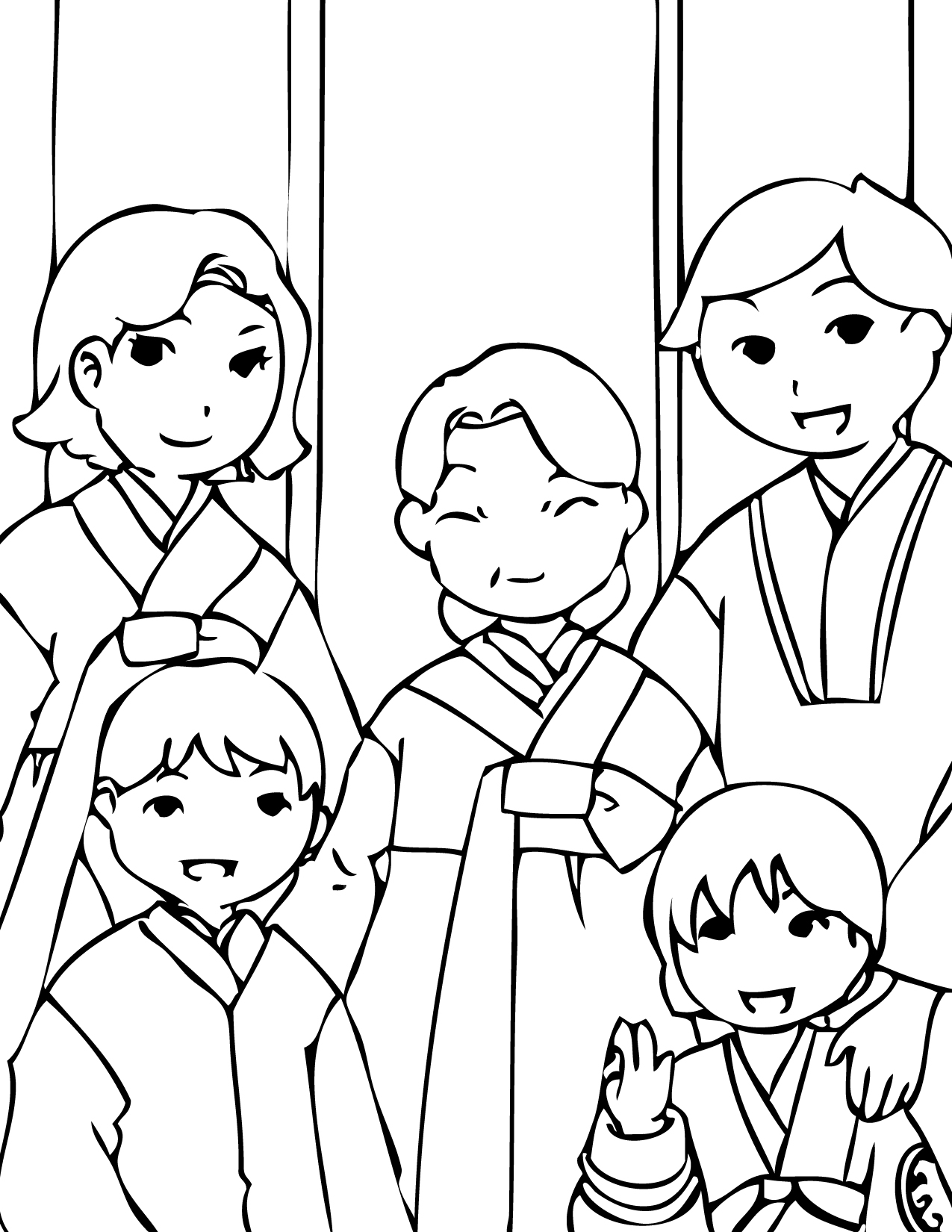 Korean Coloring Pages At Getcolorings