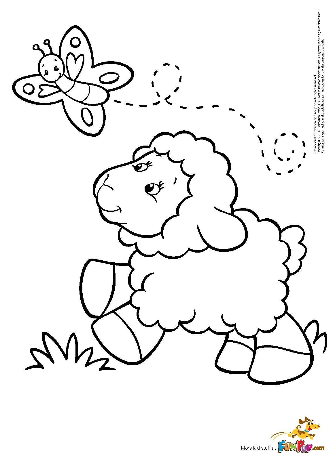 Lamb Of God Coloring Page At Getcolorings