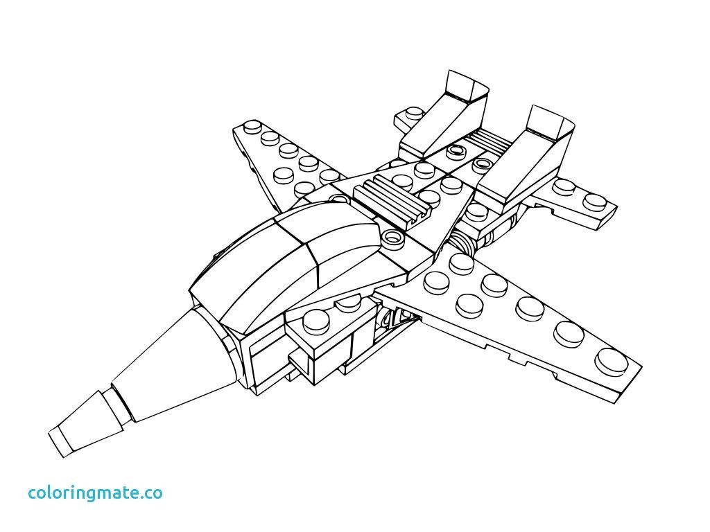Lego Airplane Coloring Pages At Getcolorings