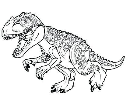 Magnifico dibujo de jurassic park para. Lego Dinosaur Coloring Pages at GetColorings.com   Free