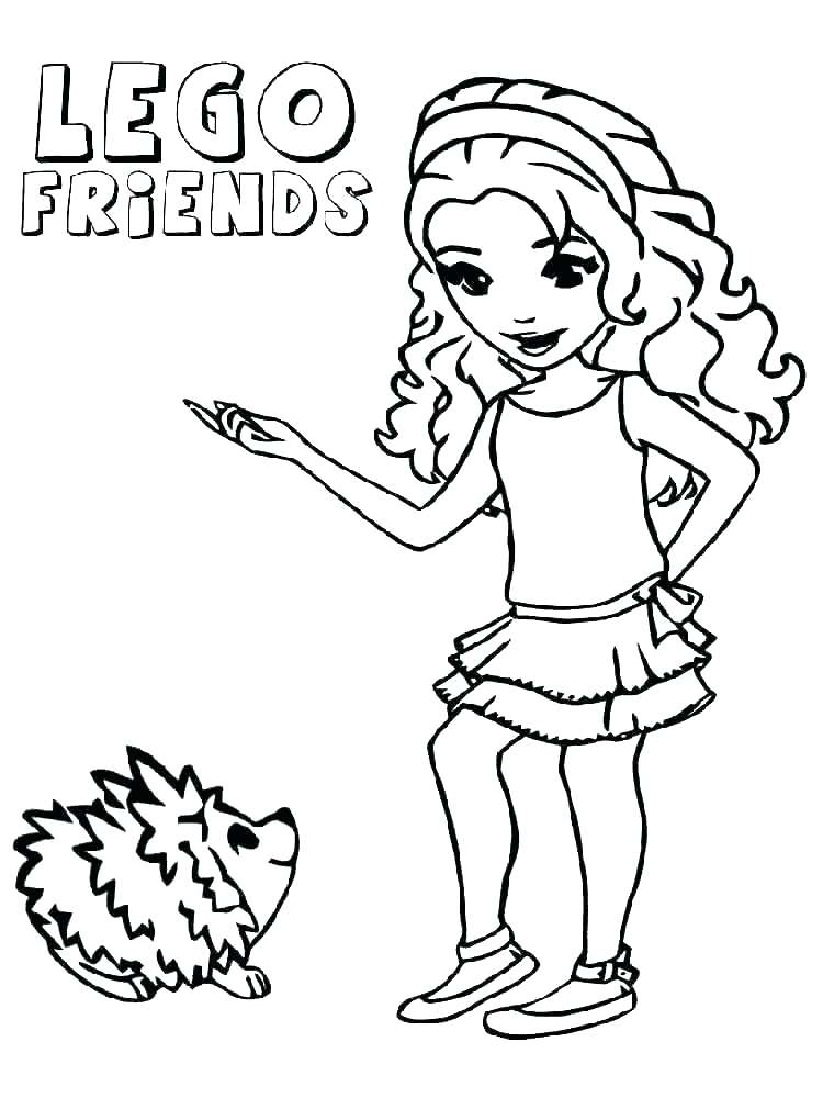 lego friends coloring pages at getcolorings  free