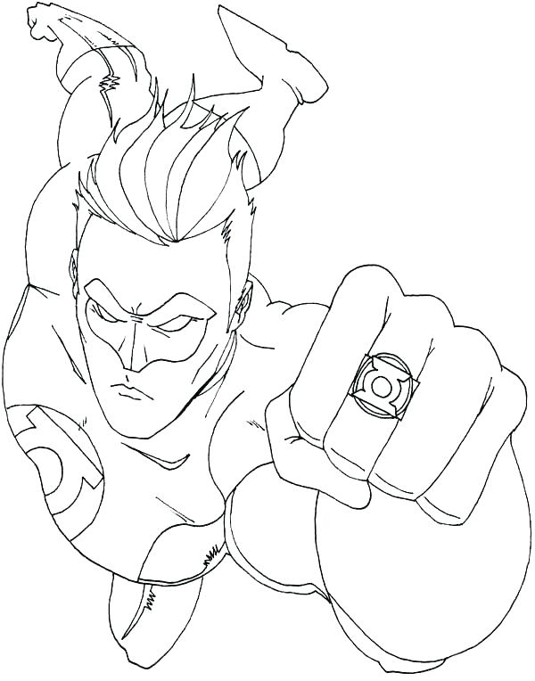 lego green lantern coloring pages at getcolorings