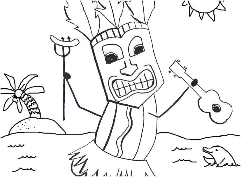 luau coloring pages at getcolorings  free printable