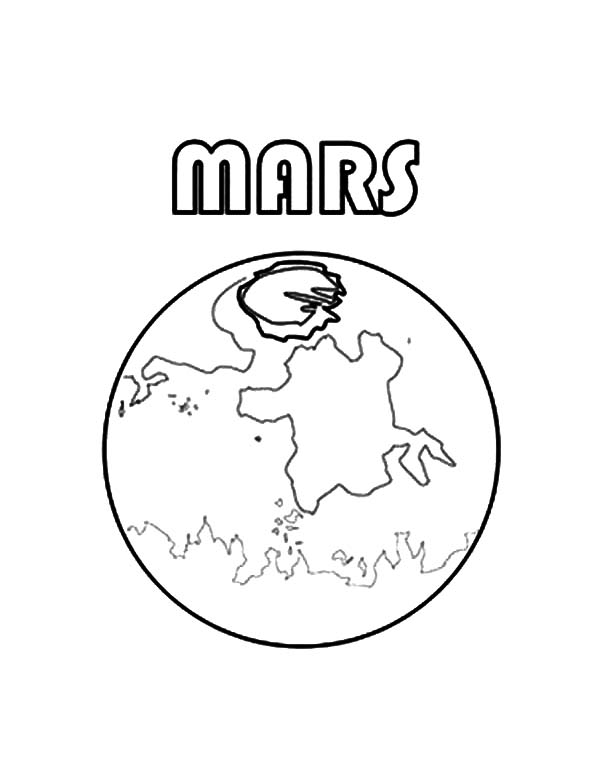 Mars Coloring Pages at GetColorings.com | Free printable ...