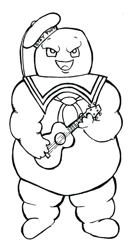 marshmallow coloring pages at getcolorings  free