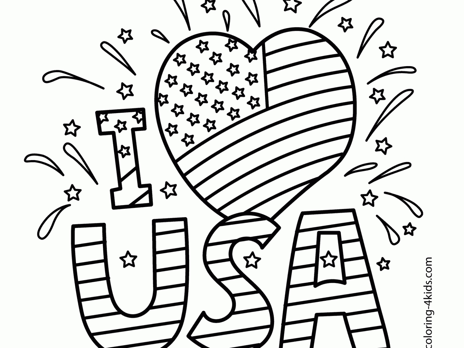 Memorial Day Coloring Pages At Getcolorings