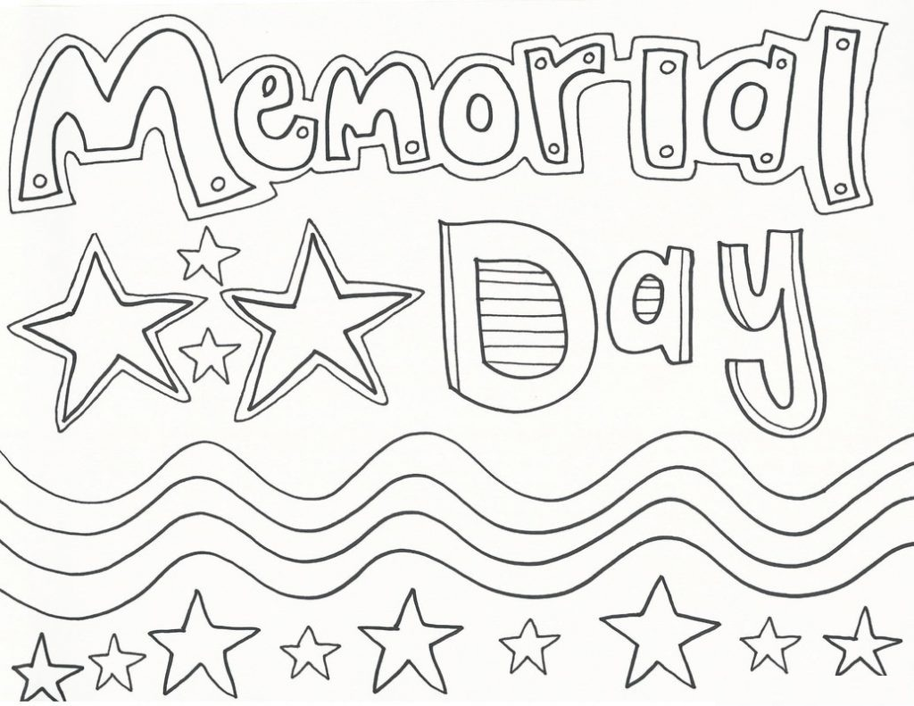 Memorial Day Coloring Pages Printable At Getcolorings