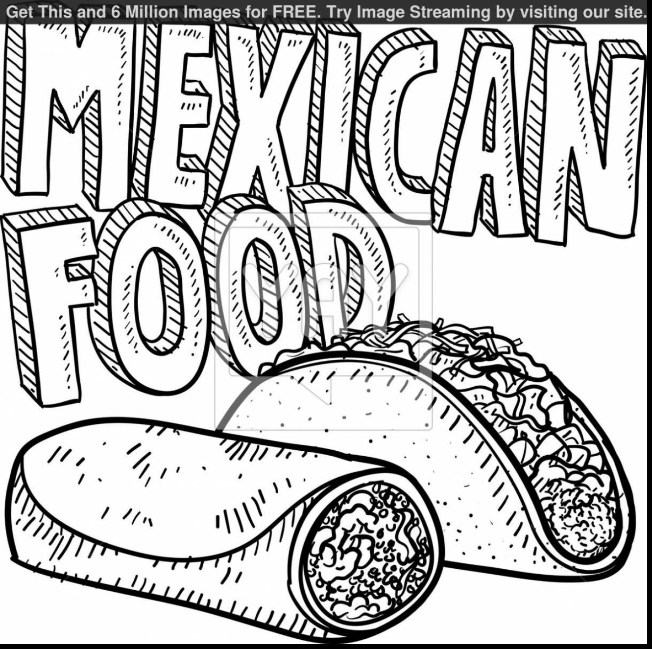 Mexico Coloring Pages At Getcolorings