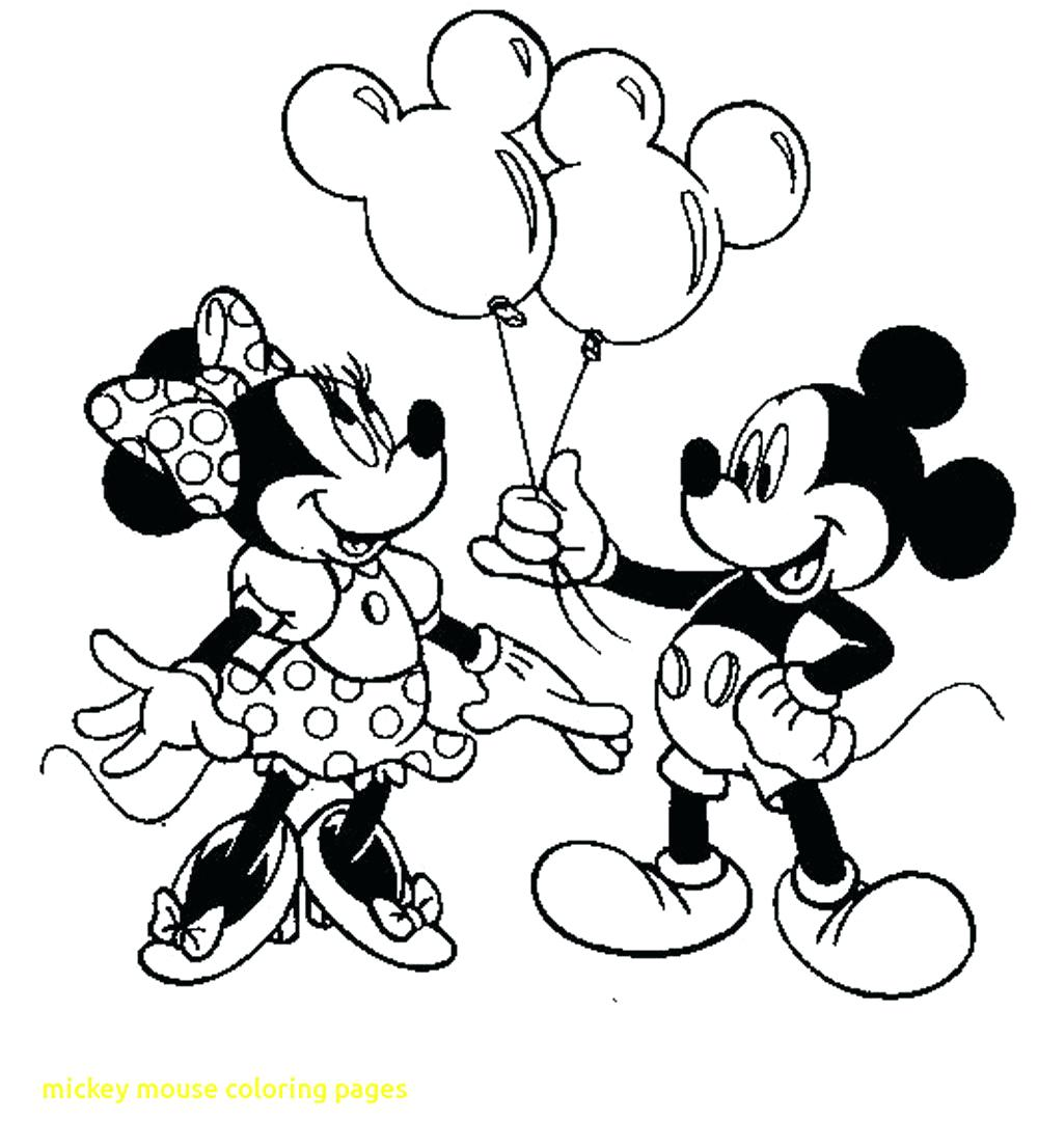 Coloring Minnie And Pages Mickey Kissing Mouse