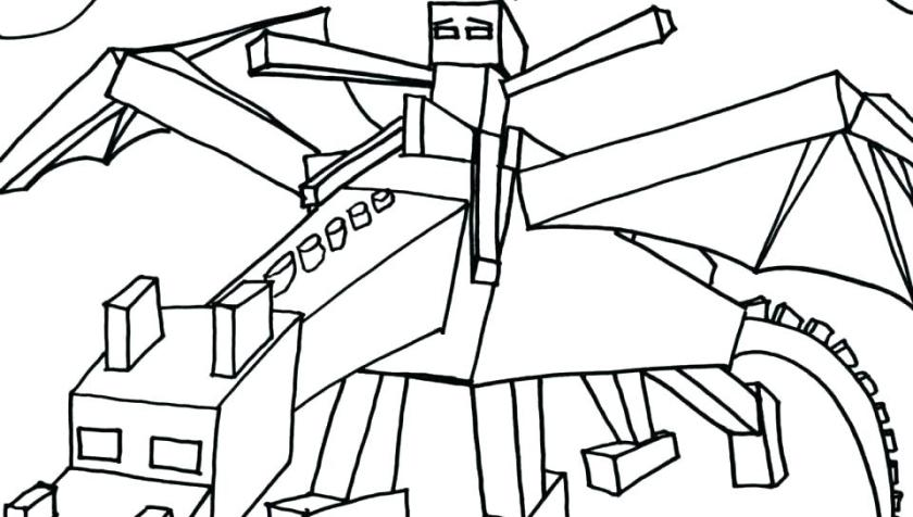 minecraft coloring pages enderman at getcolorings