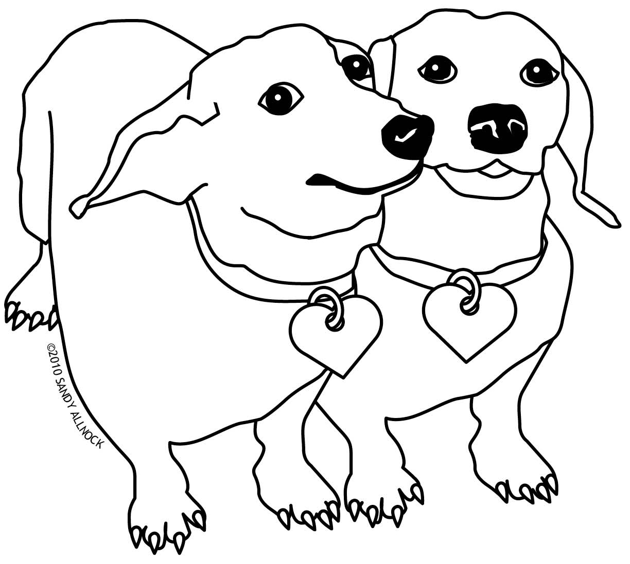 Miniature Pinscher Coloring Pages At Getcolorings