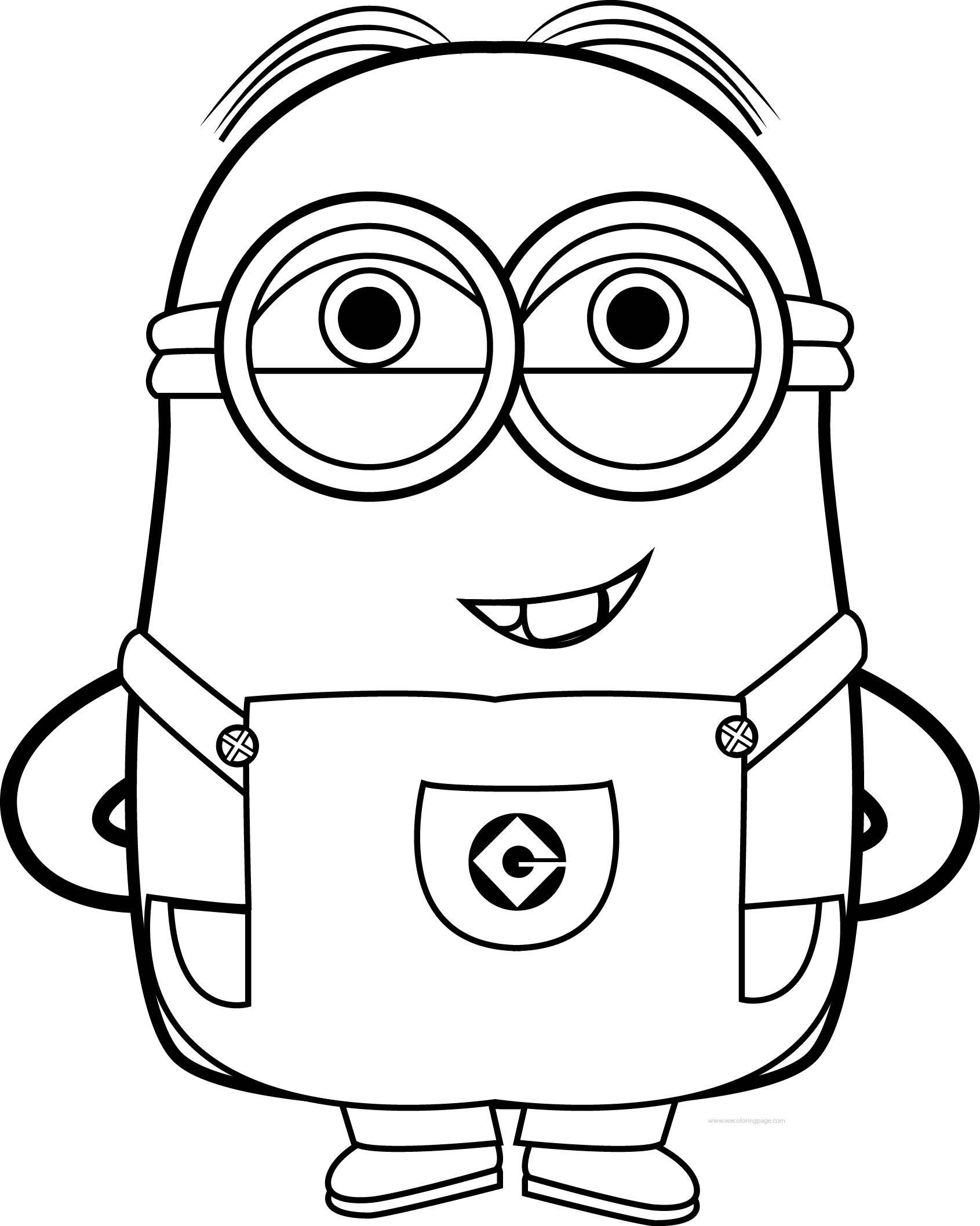 Minion Coloring Pages Kevin At Getcolorings