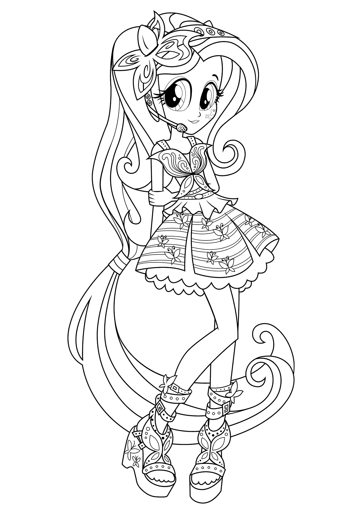 Mlp Equestria Girls Coloring Pages At Getcolorings