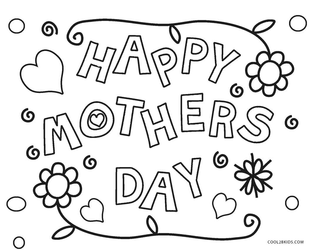 Mothers Day Coloring Pages Grandma At Getcolorings
