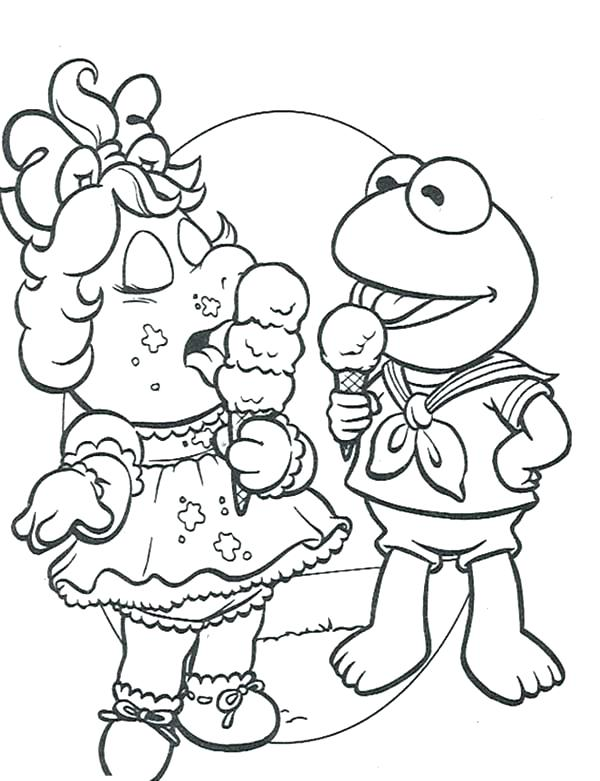 muppet babies coloring pages at getcolorings  free