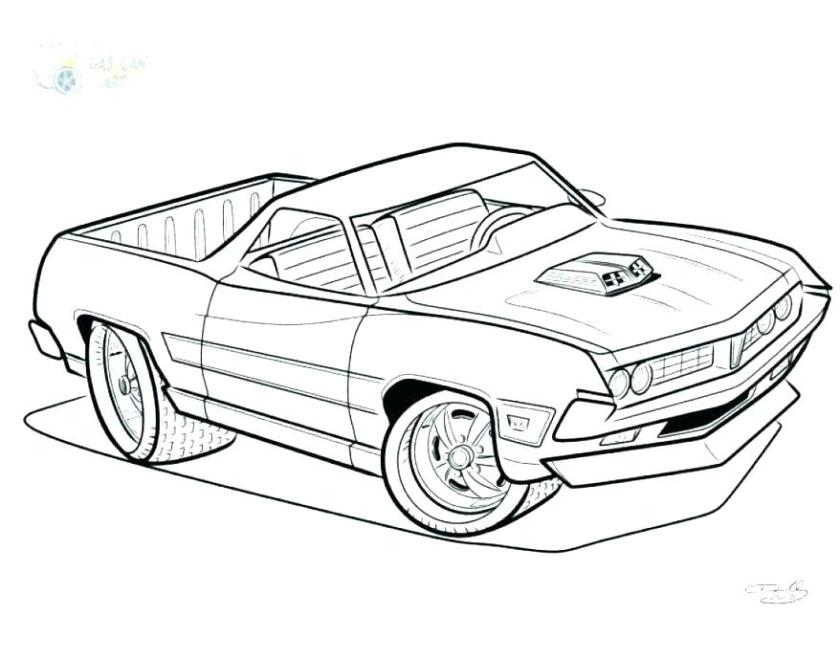 muscle car coloring pages at getcolorings  free