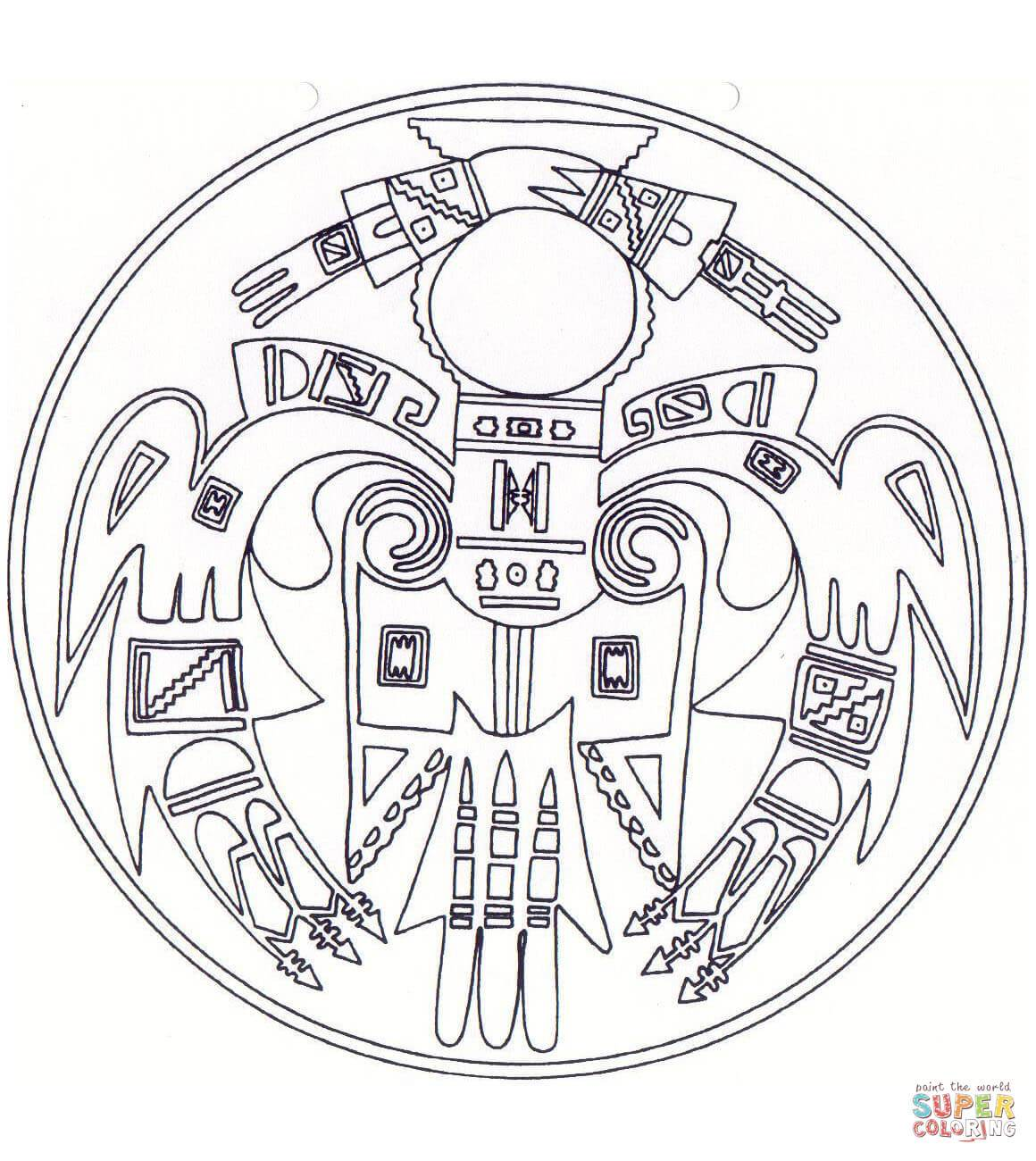 Native American Adult Coloring Pages At Getcolorings