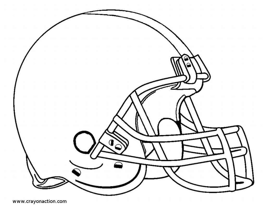 New York Giants Helmet Coloring Pages