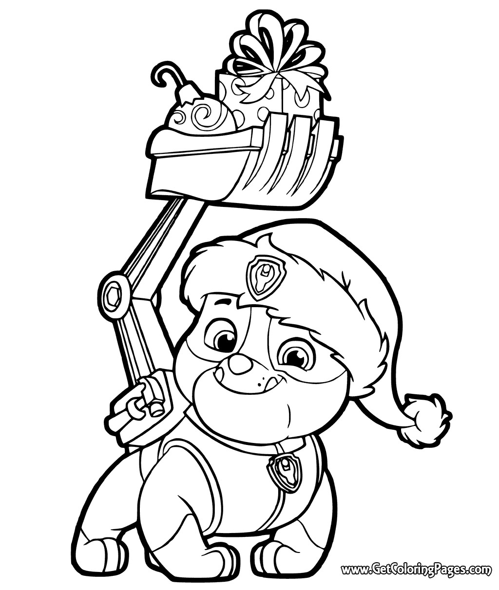 Nick Jr Christmas Coloring Pages At Getcolorings