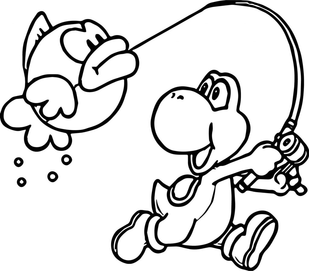 Nintendo Characters Coloring Pages At Getcolorings