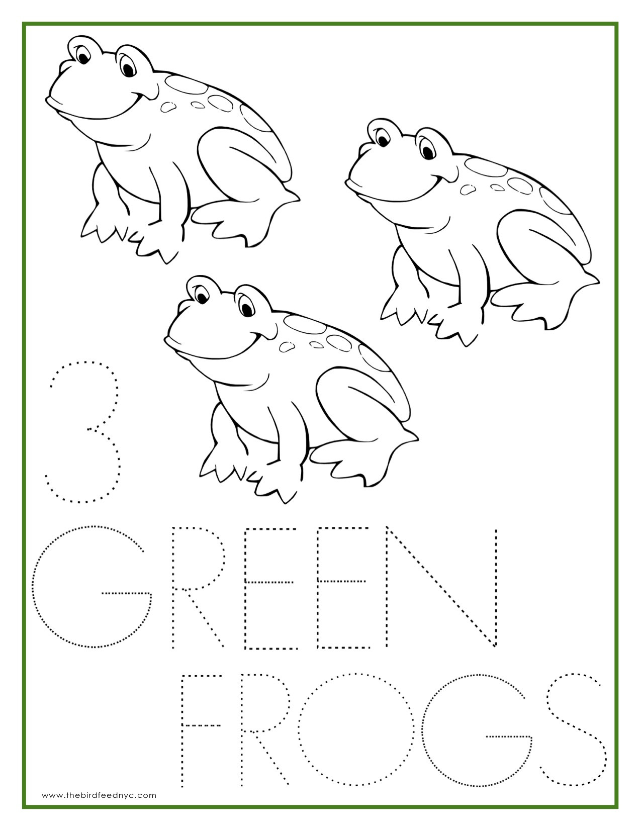 Number 3 Coloring Page At Getcolorings