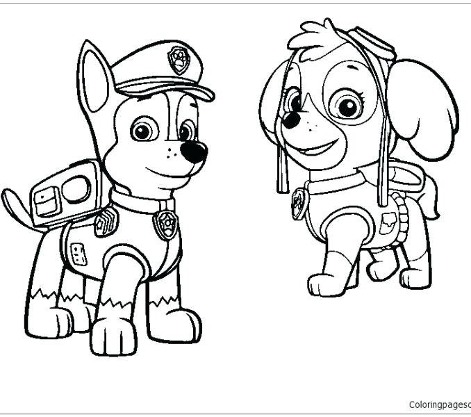 paw patrol christmas coloring pages at getcolorings