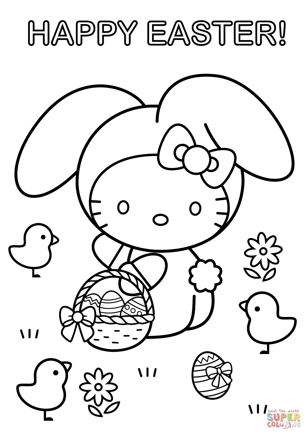 Paw Patrol Easter Coloring Pages At Getcolorings