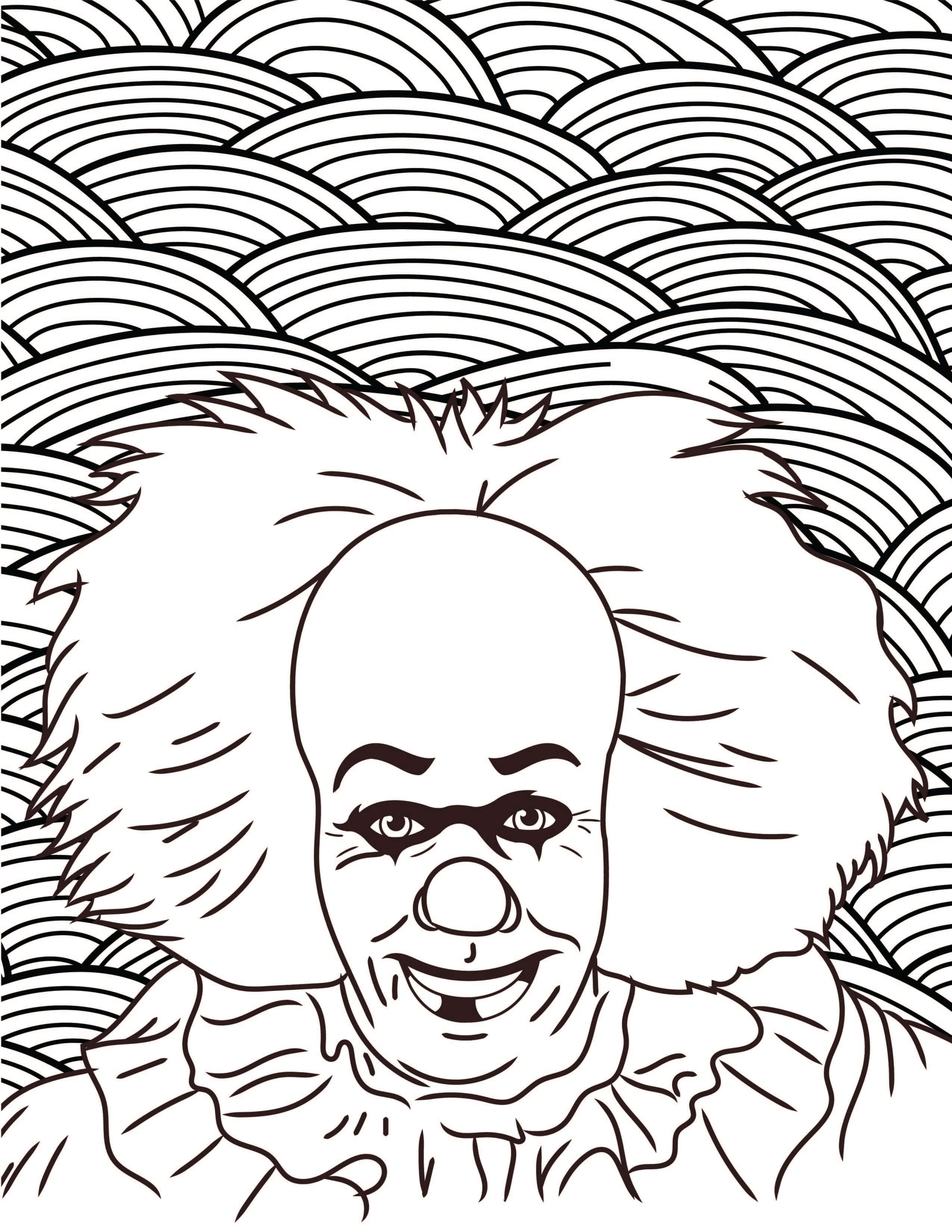 Pennywise Coloring Pages At Getcolorings