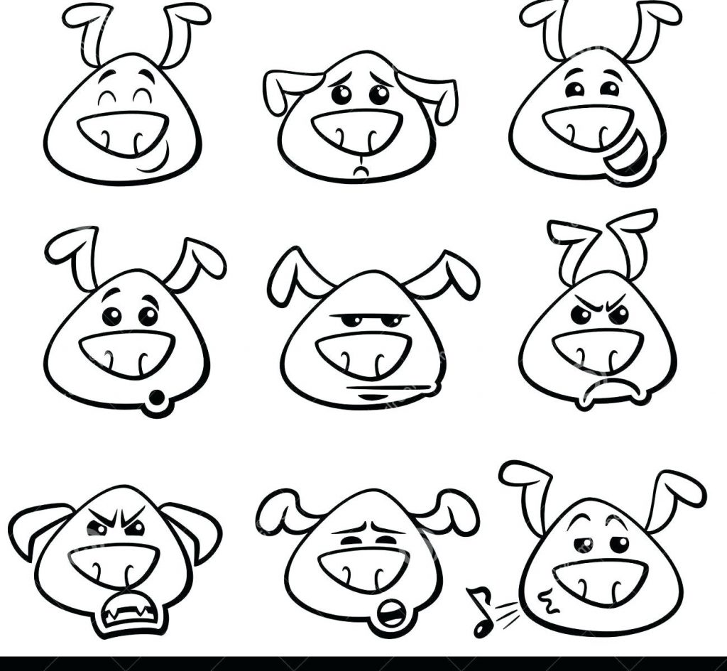 Pig Face Coloring Pages At Getcolorings