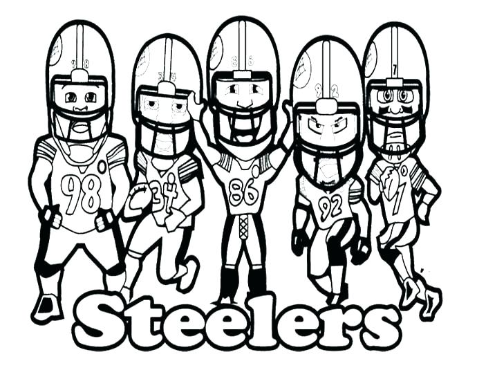 pittsburgh steelers coloring pages at getcolorings