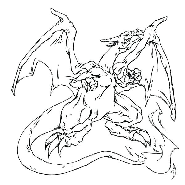 pokemon coloring pages mega charizard x at getcolorings
