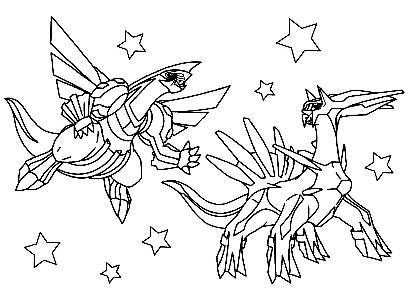 Pokemon Yveltal Coloring Pages At Getcolorings