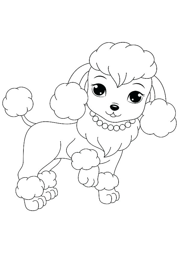 police dog coloring page at getcolorings  free